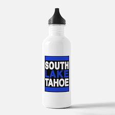 south lake tahoe 2 blue Water Bottle