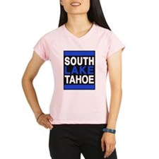 south lake tahoe 2 blue Peformance Dry T-Shirt