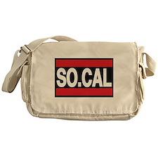so cal a red Messenger Bag