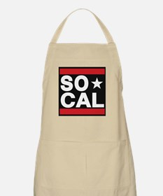so cal sq red Apron