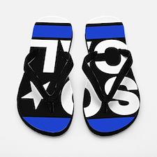 so cal sq blue Flip Flops