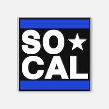 so cal sq blue Sticker