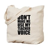 Teacher Canvas Bags