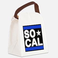 so cal sq blue Canvas Lunch Bag