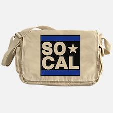 so cal sq blue Messenger Bag