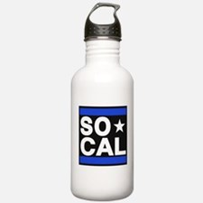 so cal sq blue Water Bottle
