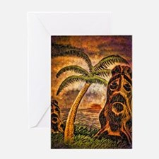 Tiki Island 9-12 Greeting Card