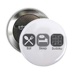 Eat. Sleep. Sudoku Button