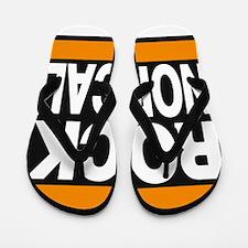 rock nor cal orange Flip Flops