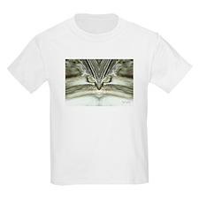 'Alien Tabby Cat' Kids T-Shirt