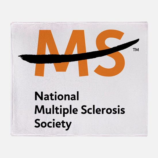 National MS Society Throw Blanket