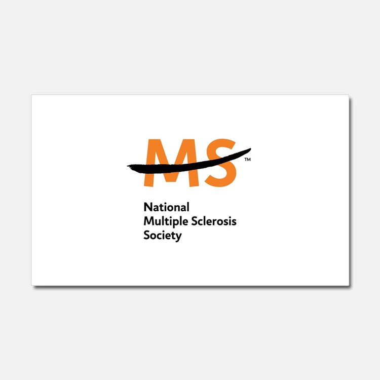 National MS Society Car Magnet 20 x 12
