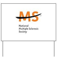 National MS Society Yard Sign
