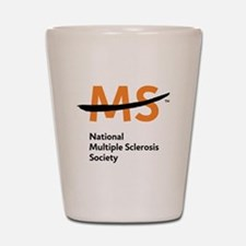National MS Society Shot Glass