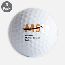 National MS Society Golf Ball