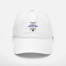 Custom I Love My Irish Wolfhound Baseball Baseball Baseball Cap