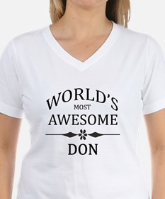 World's Most Awesome DON Shirt