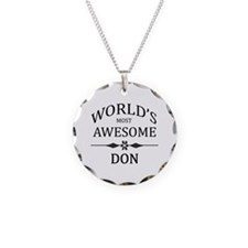 World's Most Awesome DON Necklace