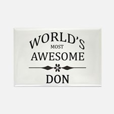 World's Most Awesome DON Rectangle Magnet