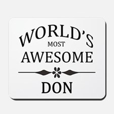 World's Most Awesome DON Mousepad