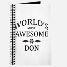 World's Most Awesome DON Journal