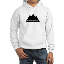 solid mountain design Jumper Hoody