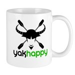 Yakhappy logo dark Mugs