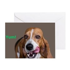 Basset Hound Birthday Card Greeting Card