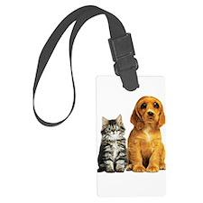 kittenpuppy Liquify Luggage Tag