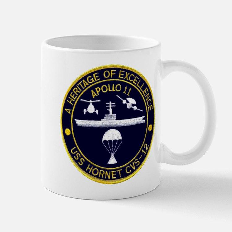 USS Hornet Apollo 11 Mug