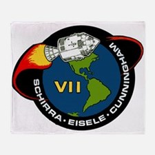 Apollo 7 Mission Patch Throw Blanket