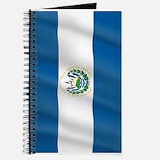 Pure Flag of El Salvador Journal