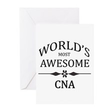 World's Most Awesome CNA Greeting Cards (Pk of 20)