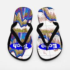 Cardiac Echo Tech 6 Flip Flops