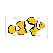 Clownfish t Aluminum License Plate