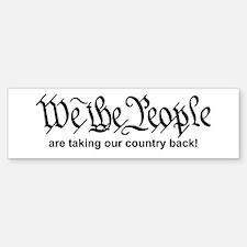 We The People Bumper Bumper Sticker