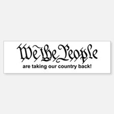 We The People Car Car Sticker