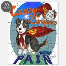 Courage Conquers Pain Puzzle