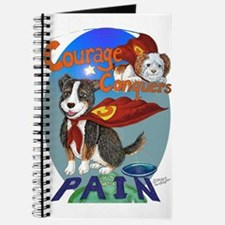 Courage Conquers Pain Journal