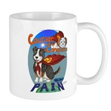 Courage Conquers Pain Mug
