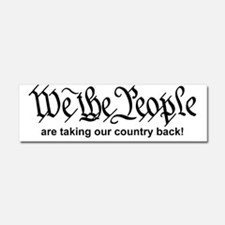 We The People Car Magnet 10 x 3