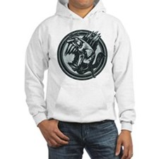 Distressed Wild Piranha Stamp Hoodie