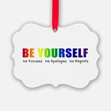 Be Yourself (Rainbow) Ornament