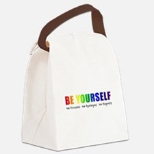 Be Yourself (Rainbow) Canvas Lunch Bag