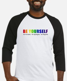 Be Yourself (Rainbow) Baseball Jersey