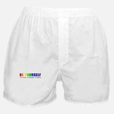 Be Yourself (Rainbow) Boxer Shorts