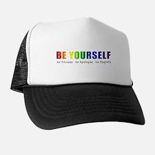 Be Yourself (Rainbow) Trucker Hat