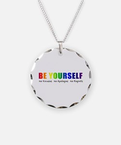 Be Yourself (Rainbow) Necklace