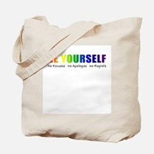 Be Yourself (Rainbow) Tote Bag