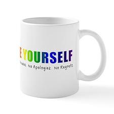 Be Yourself (Rainbow) Mug